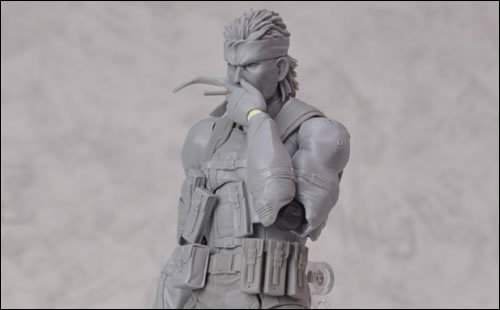 Le making of de la figurine Figma de Solid Snake