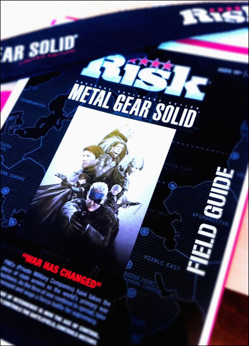 Hideo Kojima r�v�le Risk : Metal Gear Solid Edition