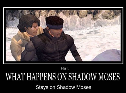 Snake et Otacon secret Shadow Moses