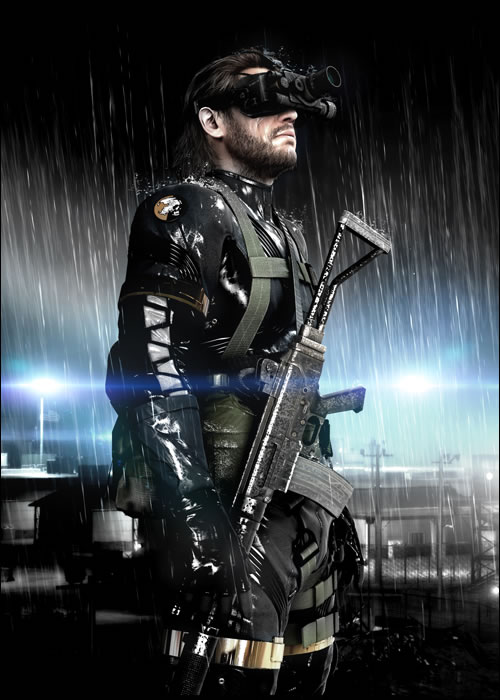 Snake de Metal Gear Solid Ground Zeroes en HD