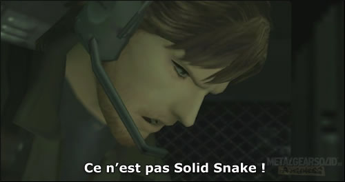 Solid Snake Metal Gear Solid 2