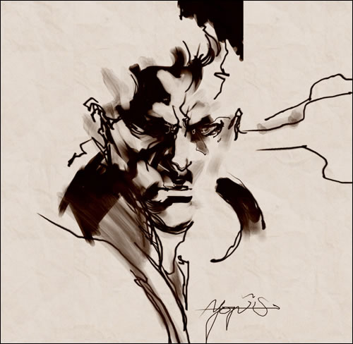 Metal Gear Art Studio : Solid Snake de Yoji Shinkawa