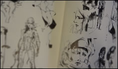 Photos de l'artbook The Art of Metal Gear Solid The Original Trilogy MGS 3
