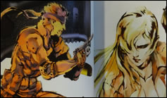 Photos de l'artbook The Art of Metal Gear Solid The Original Trilogy
