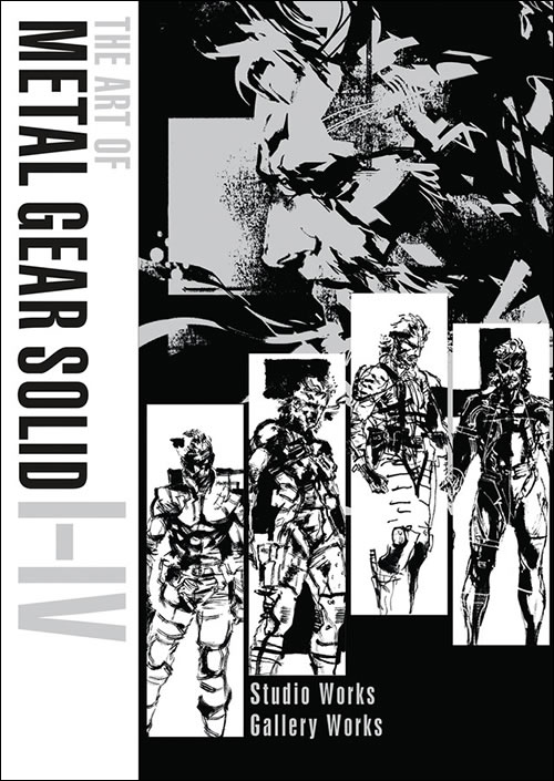Dark Horse annonce « The Art of Metal Gear Solid I-IV » soit 800 pages d'illustrations