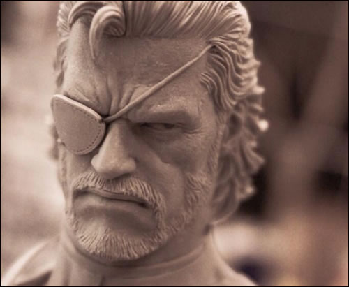 Deux photos et des couleurs pour la statuette de Big Boss de Metal Gear Solid V : Ground Zeroes