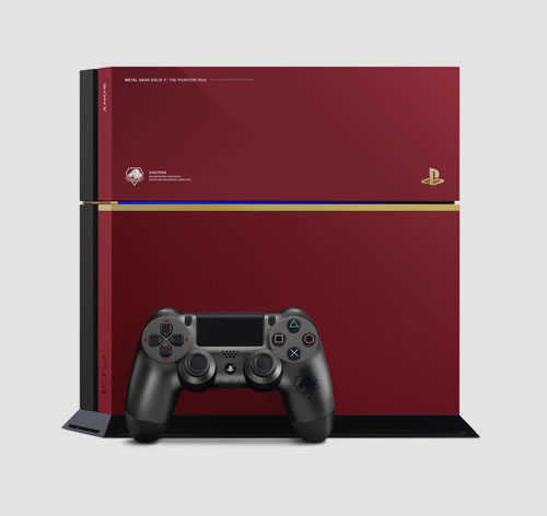 La PlayStation 4 aux couleurs de MGSV The Phantom Pain débarque en Europe !