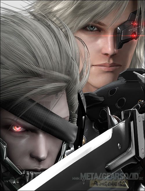 Metal Gear Rising Revengeance White et Black Raiden