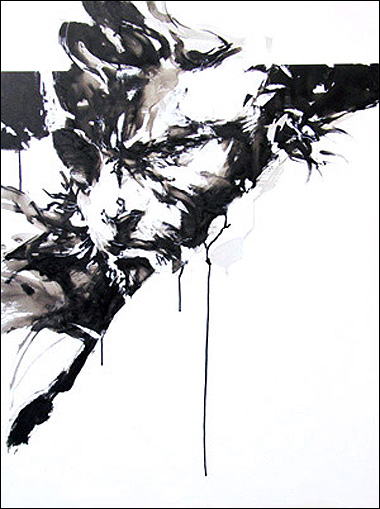 Yoji Shinkawa à l'expo The Art of Yoji Shinkawa