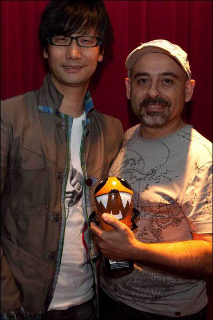 Hideo Kojima et Enric Alvarez Gamelab 2011