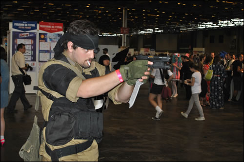 Cosplay Snake Metal Gear Solid Japan Expo 2011