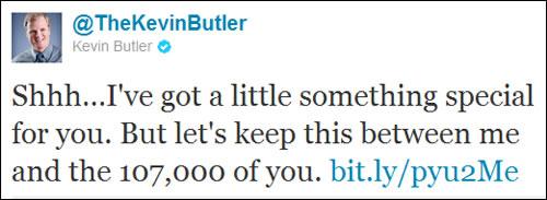 Kevin Butler Twitter