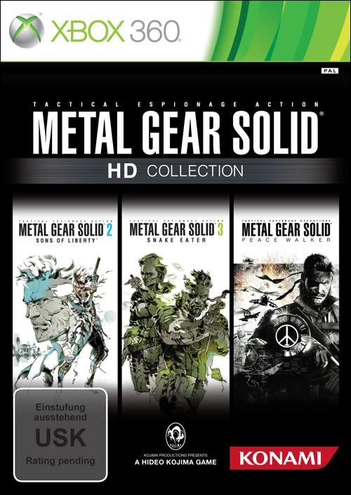 Jaquette européenne de Metal Gear Solid HD Collection sur x360