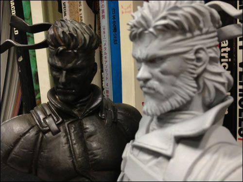 Heavy Gauge Solid Snake et Big Boss