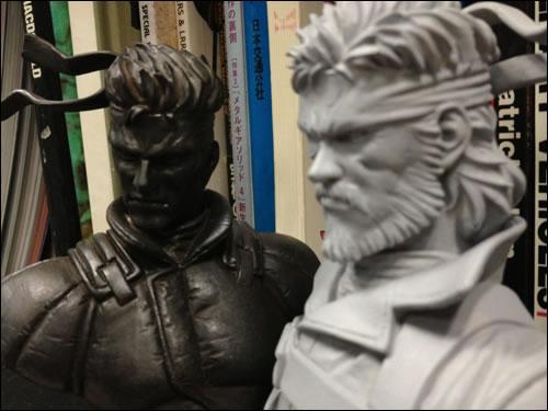 Heavy Gauge Solid Snake et Big Boss