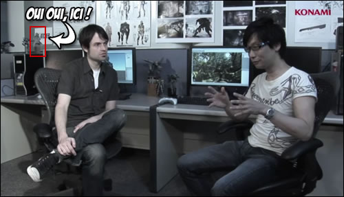 Hideo Kojima et le Fox Engine E3 2011