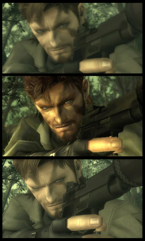 Metal Gear Solid 3 Snake Eater Comparaisons