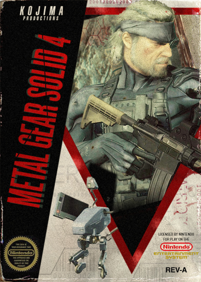 Metal Gear Solid 4 sur NES