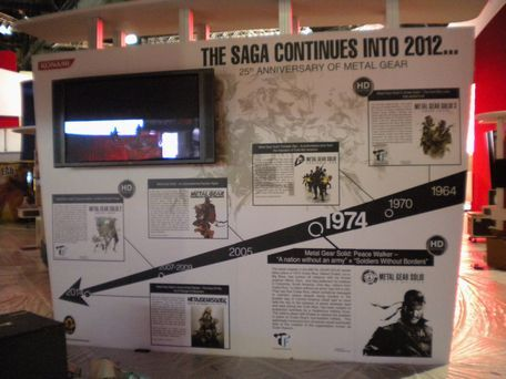 Metal Gear Solid continue en 2012