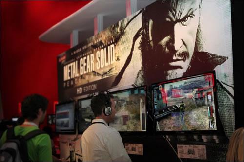 Stand de Konami à l'E3 2011