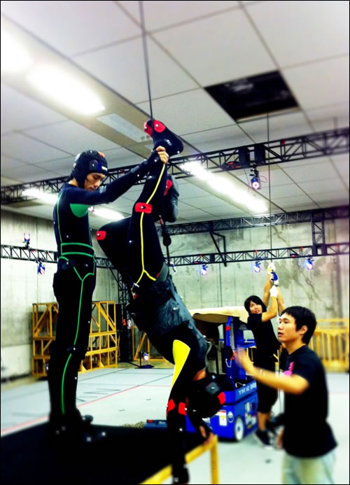 Motion Capture Chez Kojima Productions