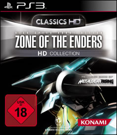 Jaquette Zone of the Enders HD Collection EU