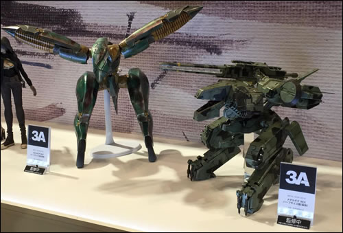 Les petits Metal Gear Rex et Metal Gear Ray de ThreeA en vente le 23 avril 2015
