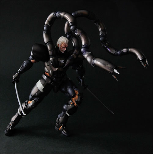 Figurine Play Arts Kaï de Solidus Snake Metal Gear Solid 2