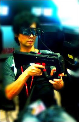 Hideo Kojima sur Metal Gear Arcade
