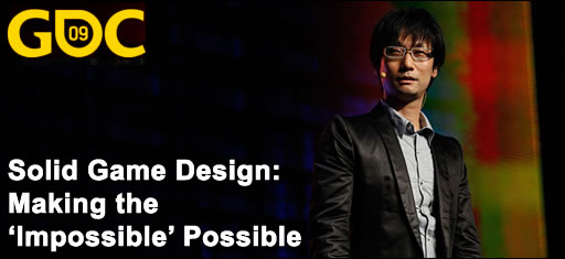 Hideo Kojima Solid Game Design Rendre l'impossible possible