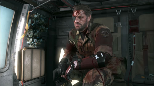 Venom Snake se tuera à la tache (de sang) dans Metal Gear Solid V : The Phantom Pain