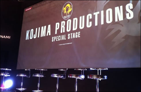 Kojima Productions Special Stage Tokyo Game Show 2011