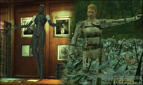 Metal Gear Solid Psycho Mantis et The Boss
