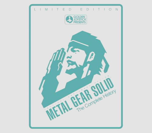 Un livre Metal Gear Solid The Complete History en attendant MGSV : The Phantom Pain