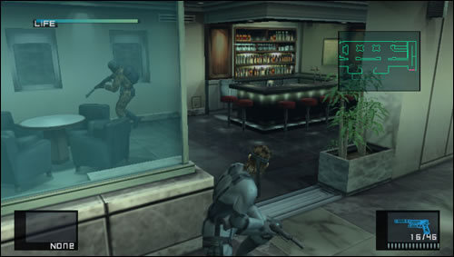 Metal Gear Solid HD Edition sur PS Vita en images
