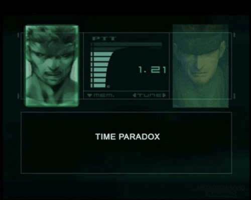 Metal Gear Solid Time Paradox
