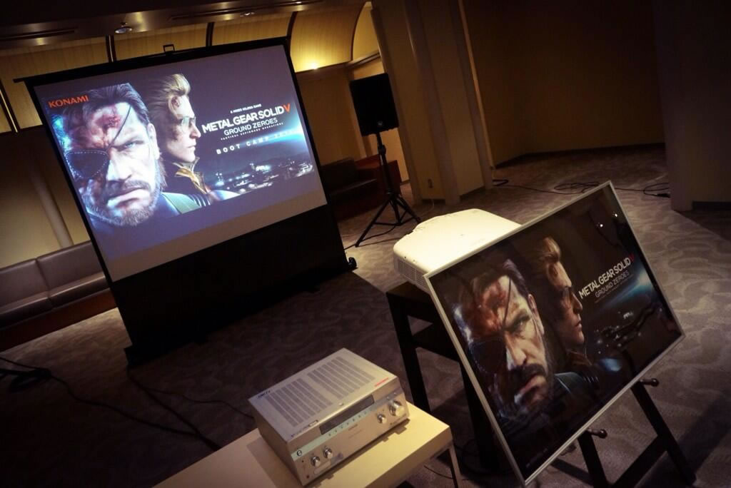 Boot Camp 2014 - Metal Gear Solid V : Ground Zeroes se joue à Nasu