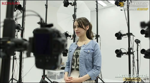 Metal Gear Solid V : Le PhotoScan avec Stefanie Joosten (Quiet)