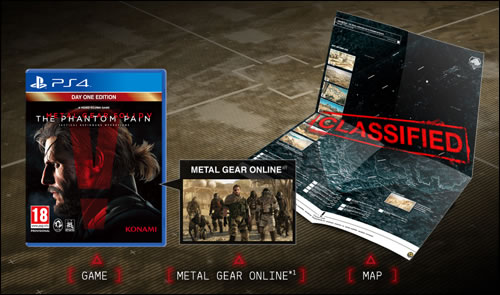 Une version collector pour Metal Gear Solid V : The Phantom Pain