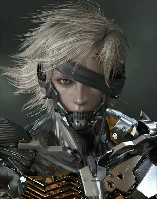 Artwork Raiden dans Metal Gear Solid Rising