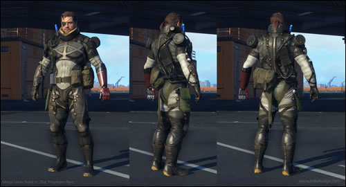 Metal Gear Solid Des Concept Arts De Metal Gear Solid V