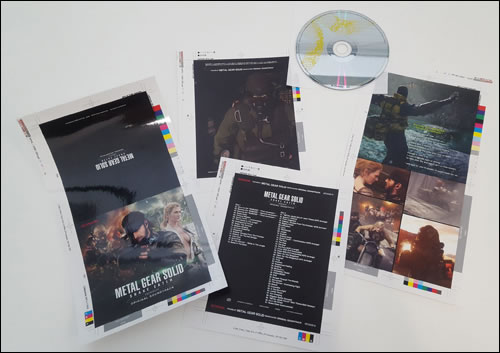 Un album pour la version Pachislot de Metal Gear Solid 3 Snake Eater