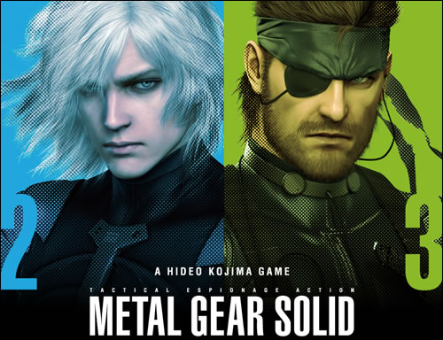 Metal Gear Solid HD Collection Raiden et Big Boss