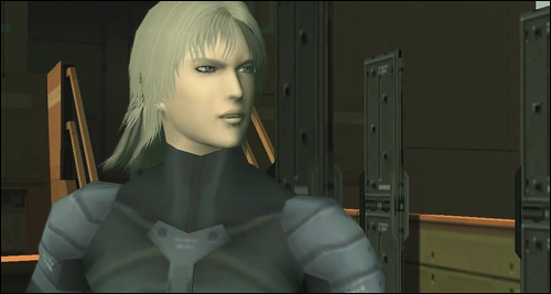 Raiden rencontre Solidus dans Metal Gear Solid 2