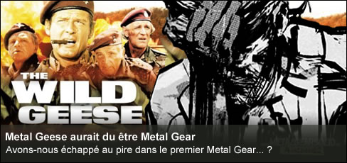 The Wild Geese Metal Gear Solid