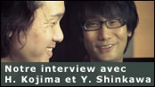 Interview exclusive avec Hideo Kojima et Yoji Shinkawa