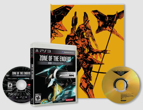 Collector américain de Zone of the Enders HD Collection